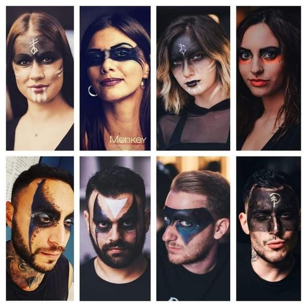 Festive make-up
